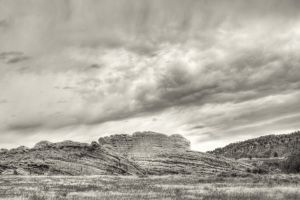 Red-Rocks-Park-at-Dusk-Morrison-CO-BW-Sepia-24x36.JPG