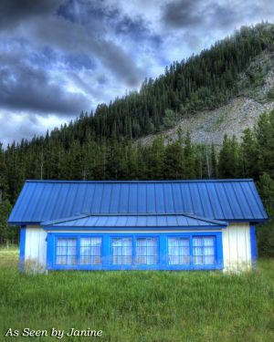 2o-Little Blue Cottage and Intense Clouds Tolland Colorado.jpg