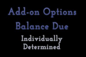 Add-on Options Balance Due