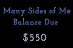 Many Sides of Me Session Balance Due