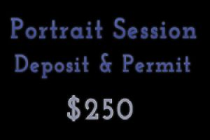 Portrait Session Deposit & Permit