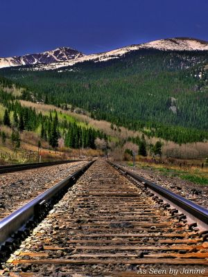 Rails to the Rockies, Union Pacific Tracks, Continental Divide