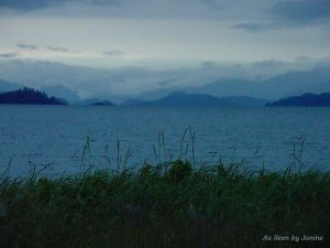 Gwaii Haanas Queen Charlotte Islands View from Sandspit