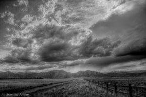 Spring Storm Clouds Colorado Style Davidson Mesa  Open Space Louisville