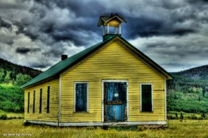 Historic Old School House - Tolland, Colorado