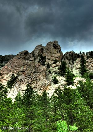 Storm Brewing in Golden Gate Canyon State Park