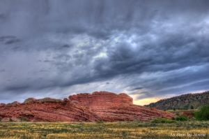 Red Rocks Park at Dusk Morrison Colorado