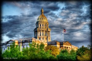 Colorado State Capital Building in Denver