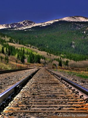 Rails to the Rockies - Union Pacific Tracks - Continental Divide