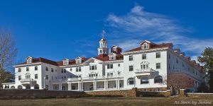Stanley Hotel in Estes Park - Setting of The Shining by Stephen King