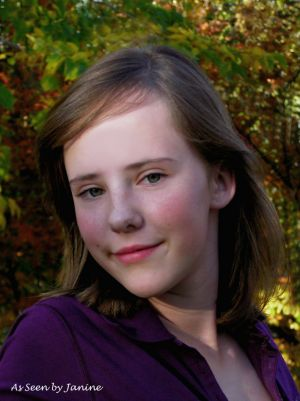Amy on the Cusp of Growing Up Headshot